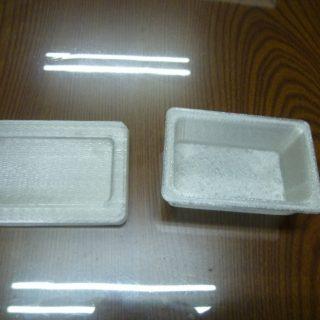 3Dプリンター お菓子の容器